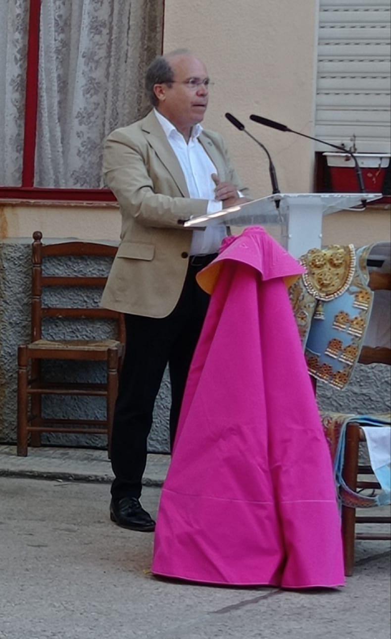 Javier López Galiacho, presentador del acto.